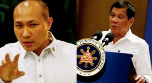 Duterte taunts Alejano about his trip to Israel