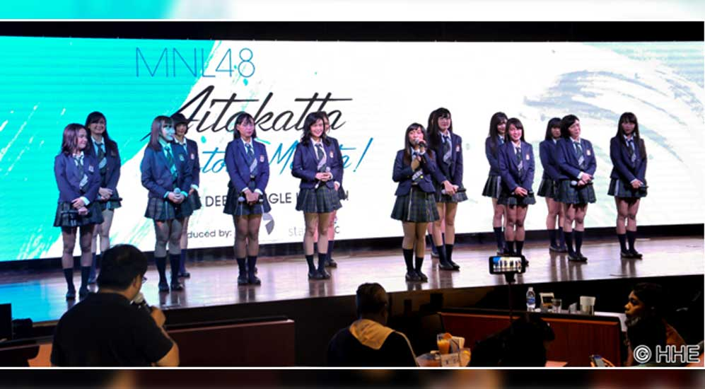 MNL48 announces the release of their debut single