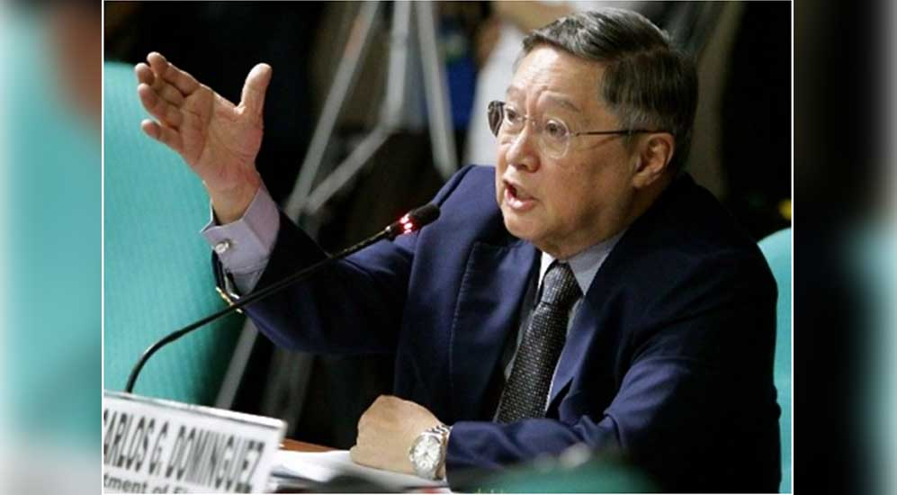 "Finance Secretary Dominguez warns, ""Interest rate will go hell"""