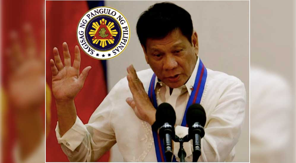 Duterte tells China, do not empty our oil in WPS