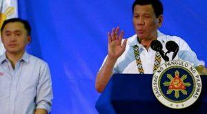 Duterte, Joma has cancer not me