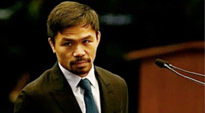 Pacquiao insinuates, Pope is wrong on death penalty