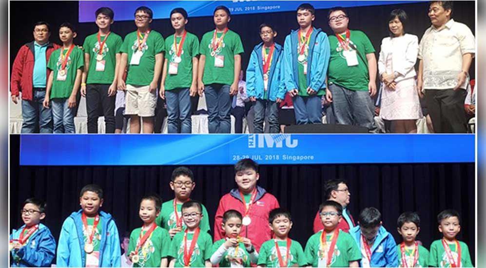 Philippines Dominates the 14th International Mathematics Contest in Singapore