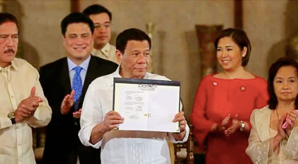 Duterte: Don't fear the National ID