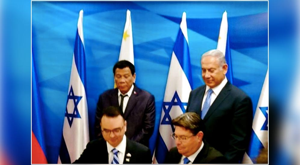 Duterte, Netanyahu meet; Israeli PM hails Filipino caregivers