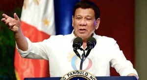 """I am not silencing my critics"", Duterte"
