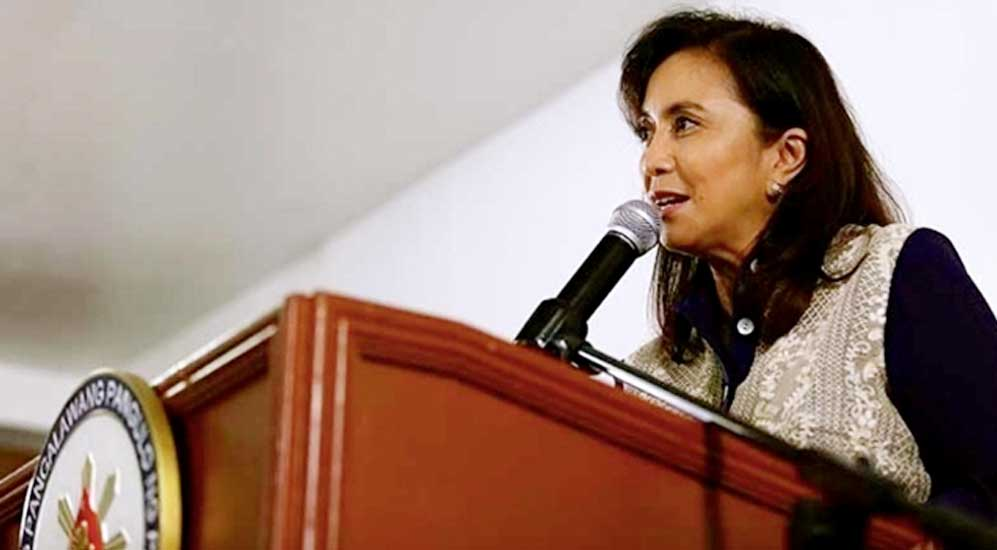 Vice President Robredo urged gov't do something on fuel excise tax, NFA