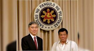 President Duterte meets US Ambassador Kim