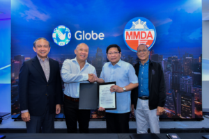 Globe, MMDA sign agreement to improve mobile experience along Metro Manila's major roads