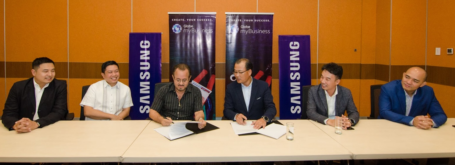 Globe myBusiness-Samsung partnership to protect data and boost productivity of MSMEs