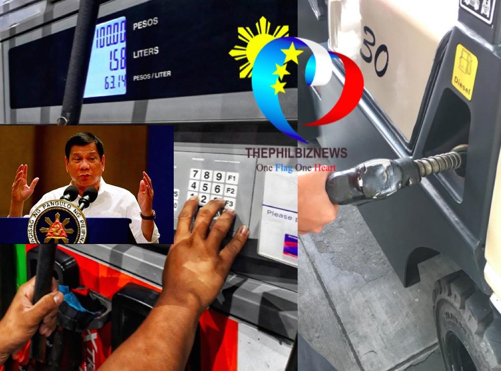 Duterte vacillates on fuel excise taxes