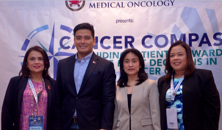 The Philippine Society of Medical Oncology educates cancer patients on the importance of making informed decisions about cancer care