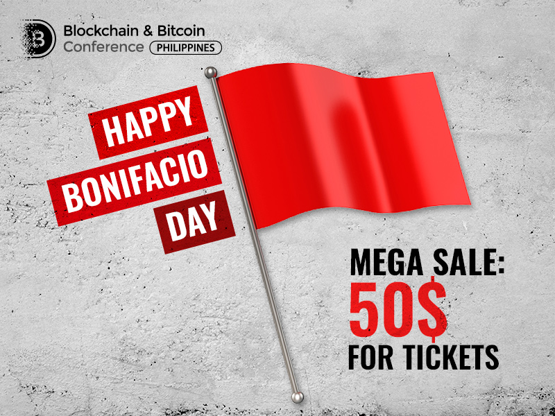 Blockchain & Bitcoin Conference Philippines offers 50% discount on conference tickets