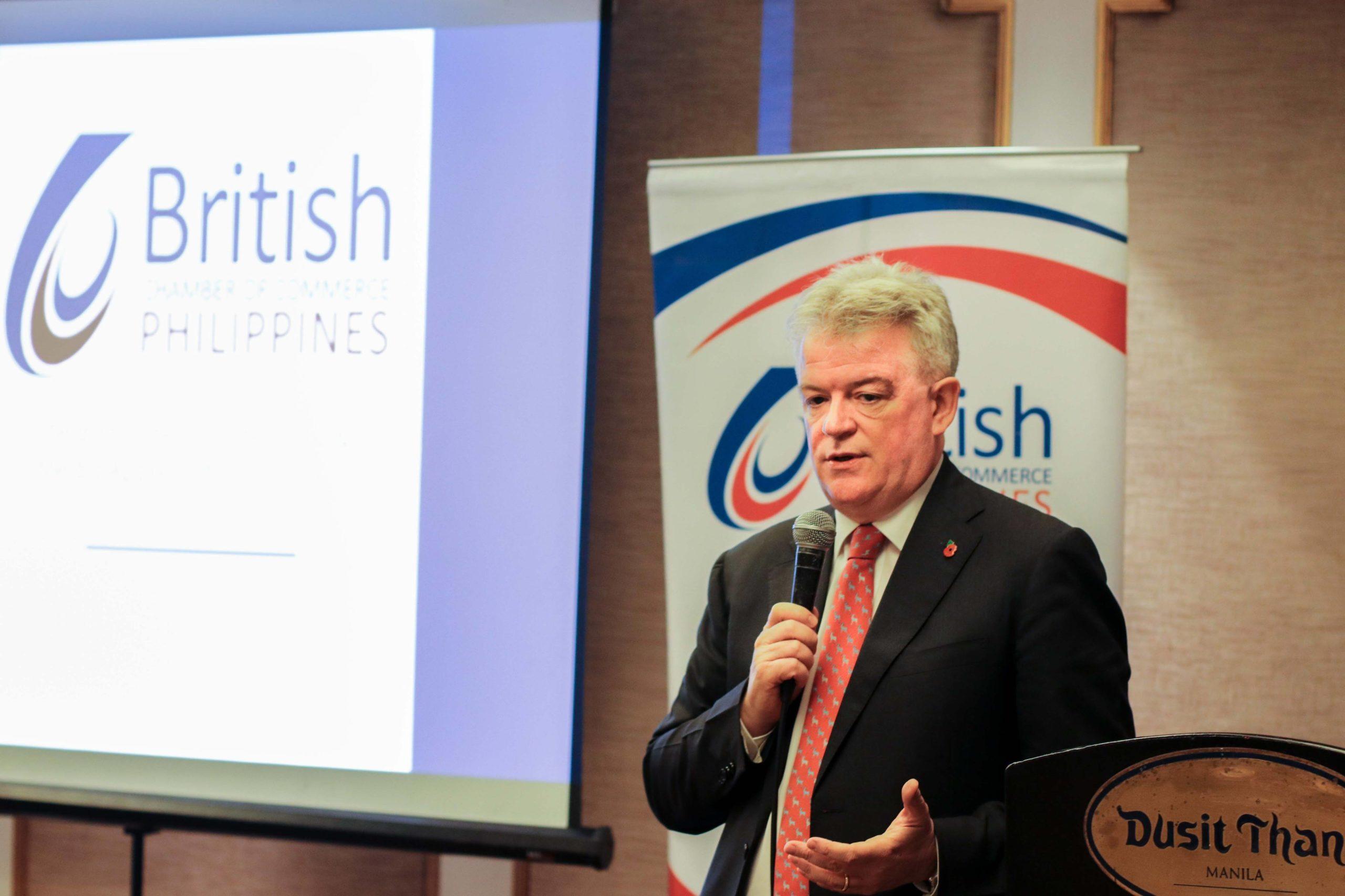 BCCP Chairman Chris Nelson: PH, UK must sustain economic growth momentum in 2019