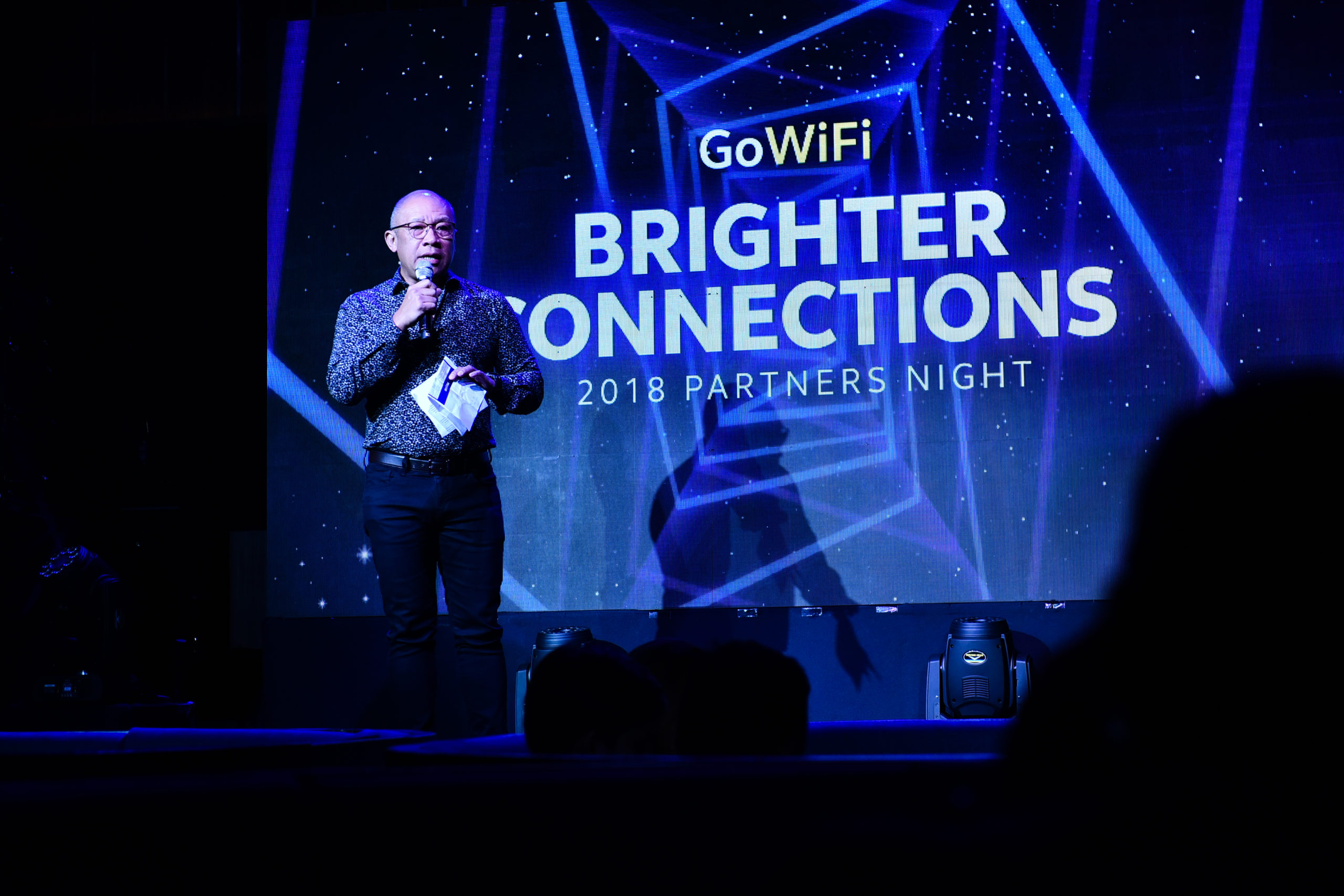 Globe Partners' Night celebrates growing business for GoWiFi services
