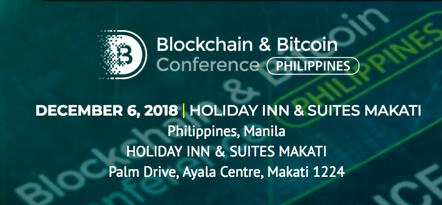 Blockchain & Bitcoin Conference Philippines set to kick off on December 6