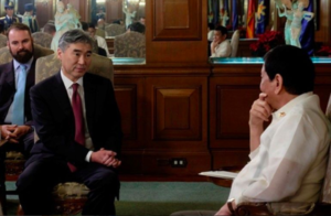 US not bothered by strong ties between Philippines and China