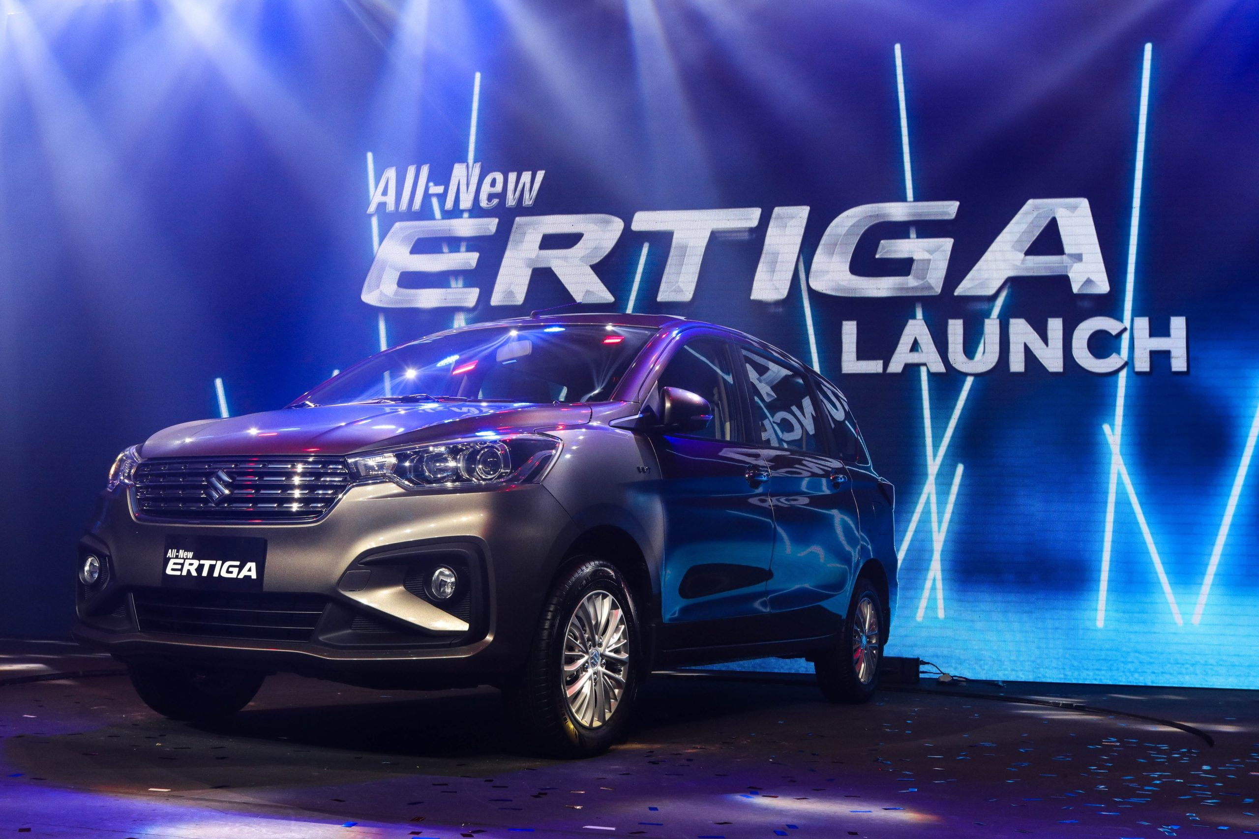 Suzuki PH brandishes fortified Ertiga in their launching, highlighting the perfect blend of strength and elegance
