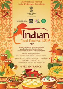 Indian Embassy sets to showcase their food in 2019 Food Festival