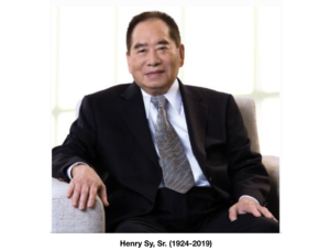 Philippines' wealthiest man, Henry Sy, Sr. passed away
