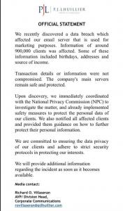 Cebuana Lhuillier risks around 900k clients in data breach