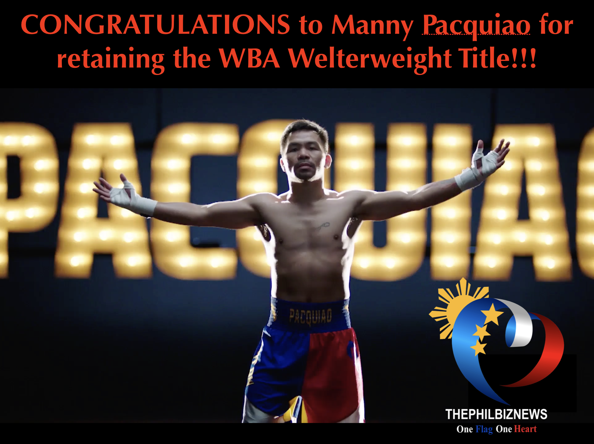 Manny Pacquiao retains WBA Welterweight Title against Broner via unanimous decision