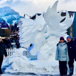 Filipino-Canadian couples win in the First International Snow-Sculpting Competition in Canada
