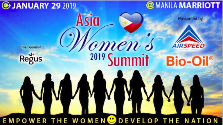 Asia Women's 2019 Summit to kick off on January 29