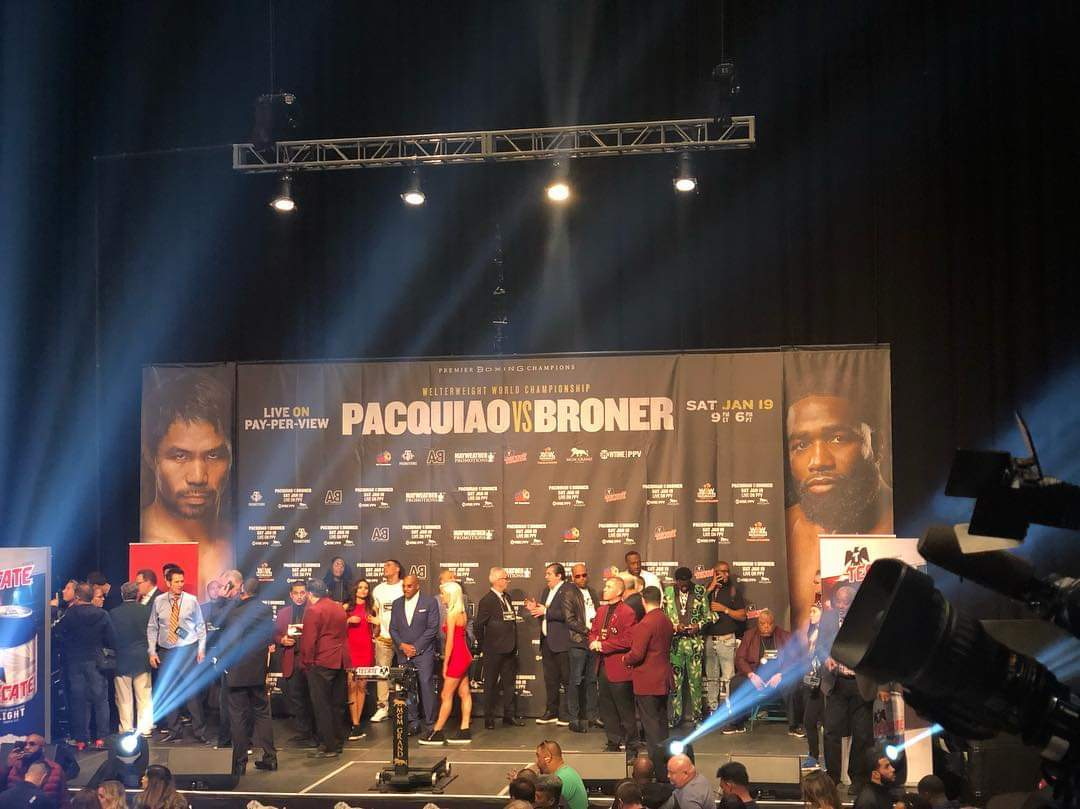 Official weigh-in results: Pacquiao 146, Broner 146.5