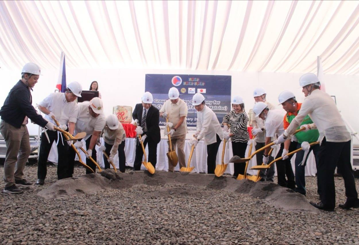 Philippine and Japanese government officially starts the construction of the Philippine National Railways