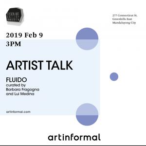 Philippine-Italian Association invites art lovers in the ARTIST TALK FLUIDO exhibit