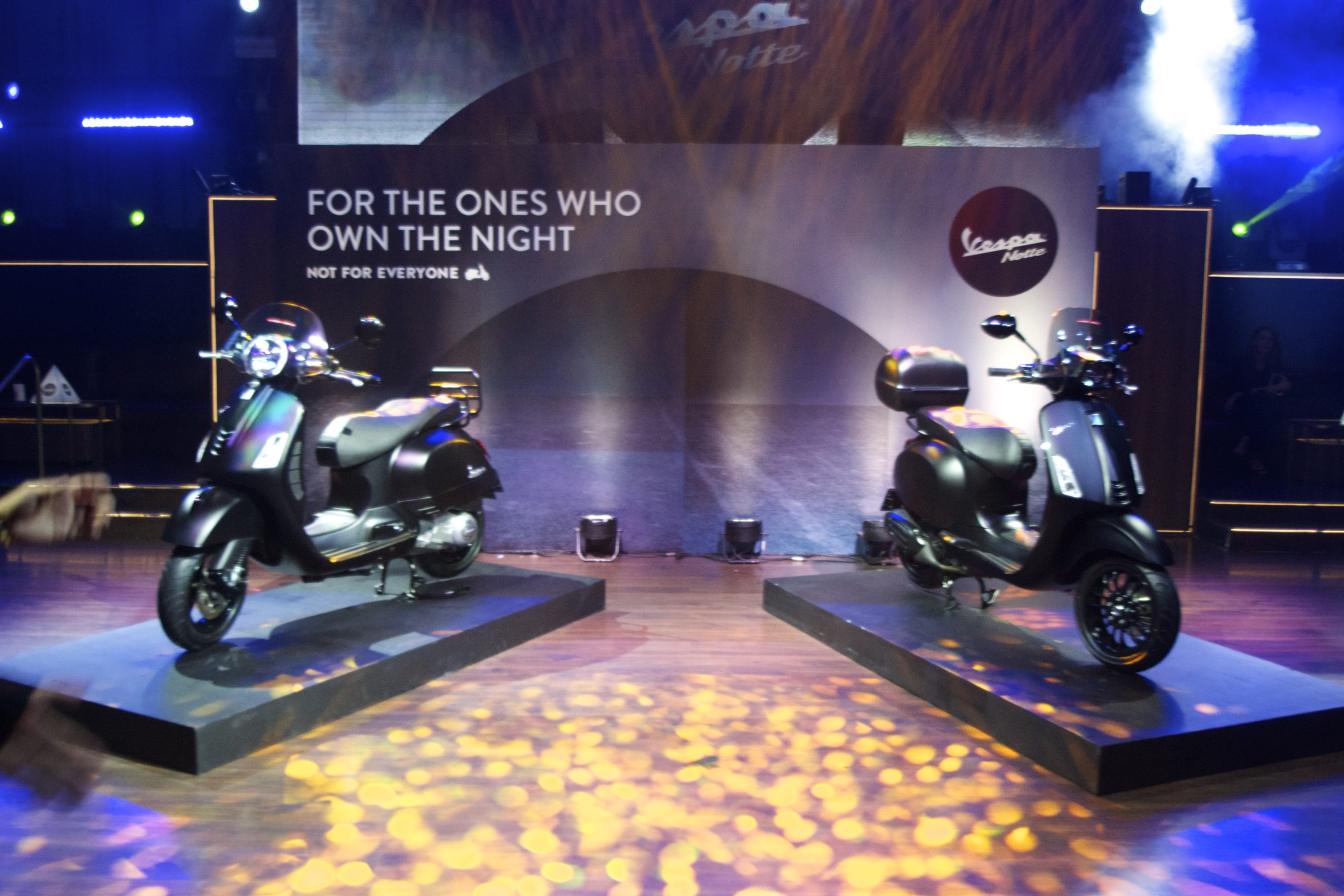 Vespa Philippines brandishes its newest and elegant Vespa Notte special series