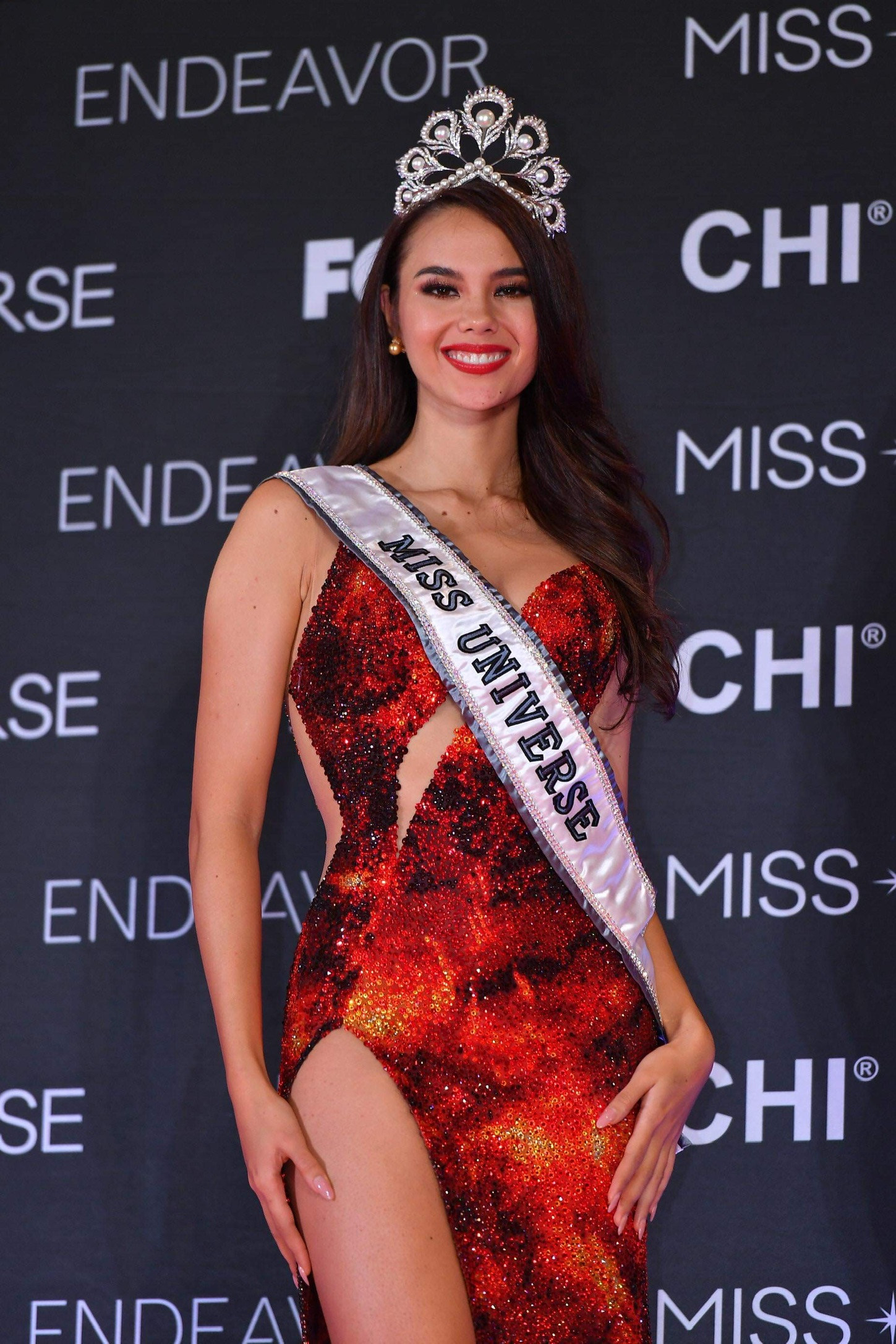 Grand Homecoming sets for Miss Universe Catriona Gray