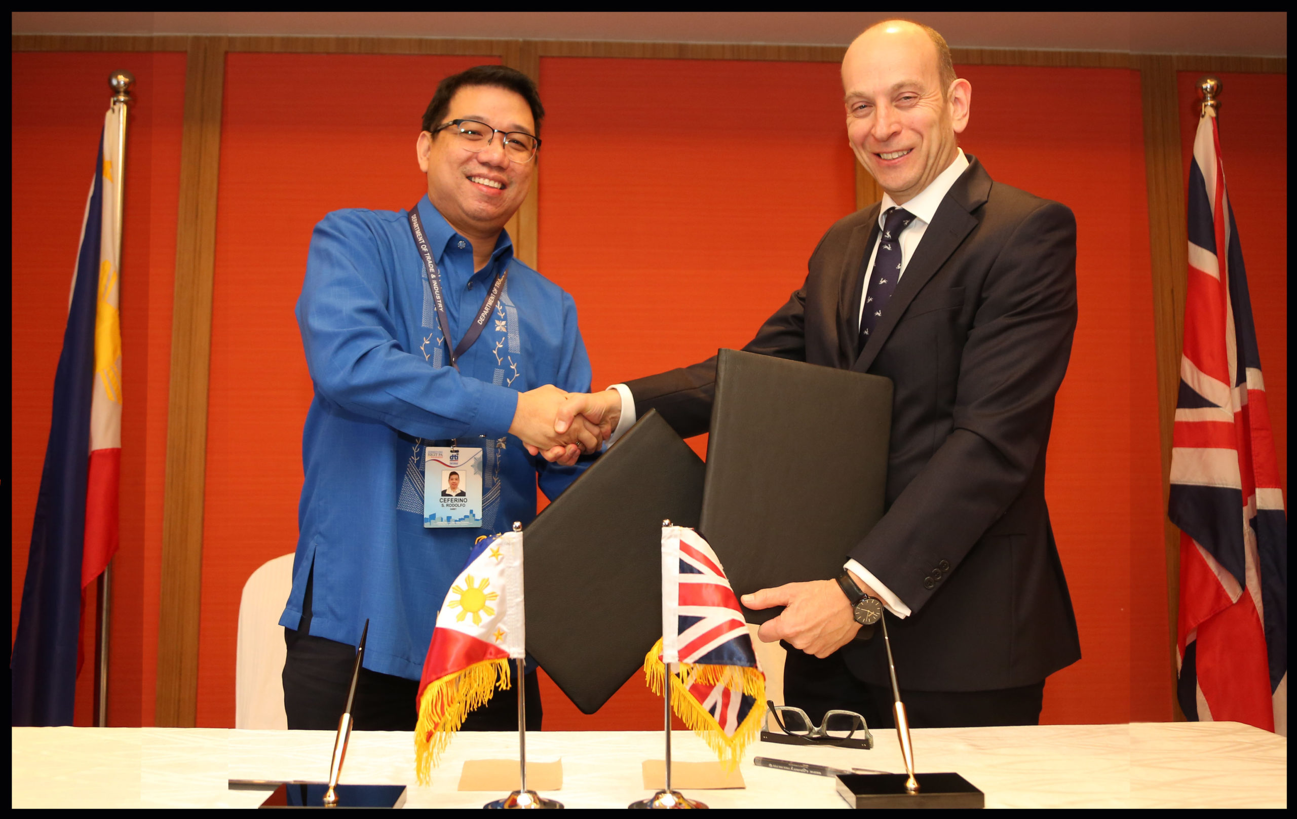 Philippines, United Kingdom strengthen economic ties