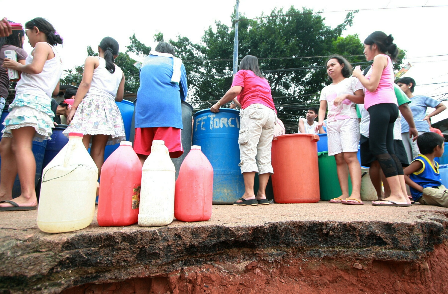 Manila Water hopes that water interruption will be over before the end of summer