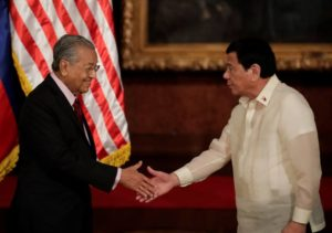 Malaysian Premier Mahathir gives Philippines stern warning against China loan