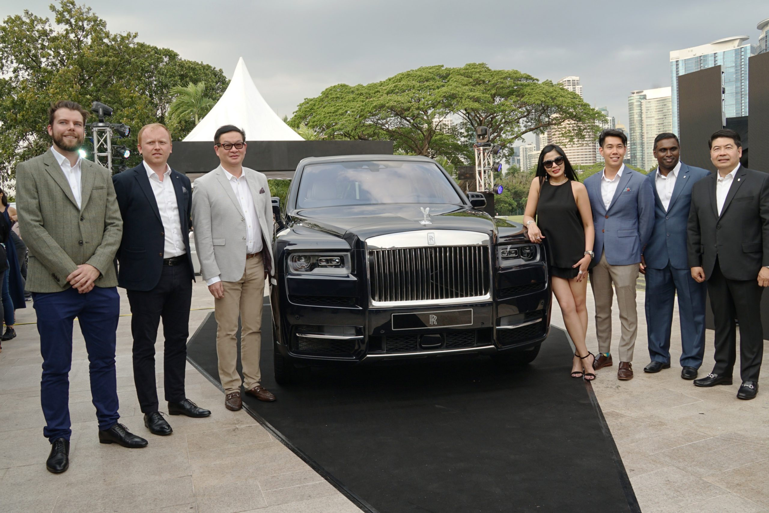 Philippines welcomes the most envied and desired SUV, the new Rolls-Royce Cullinan