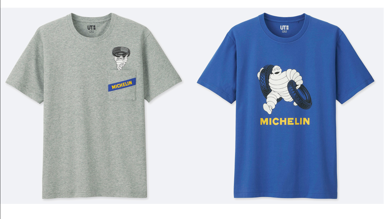 The Michelin Man Collaborates with Uniqlo's UT T-Shirts