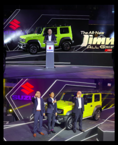 Suzuki All-New Jimny All Grip Pro, affordable, powerful and colorful