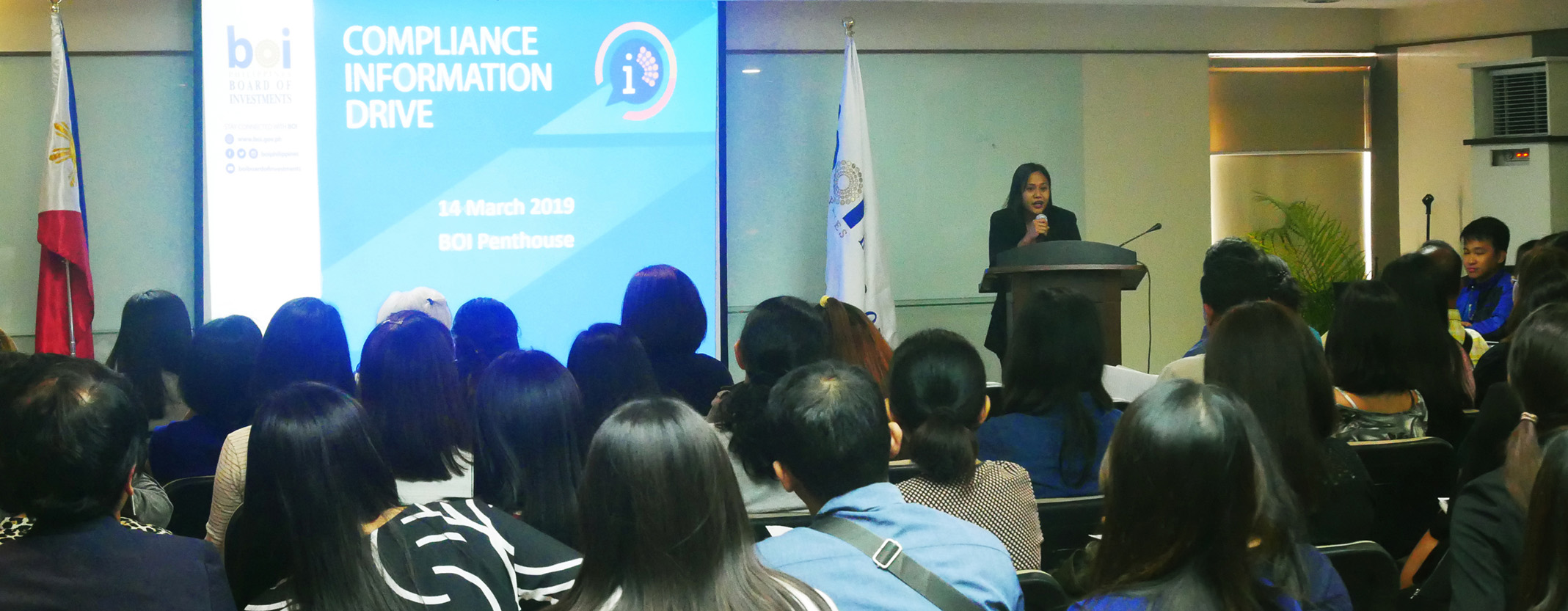 PH Board of Investment conducts info drive to further encourage compliance, new policies and guidelines