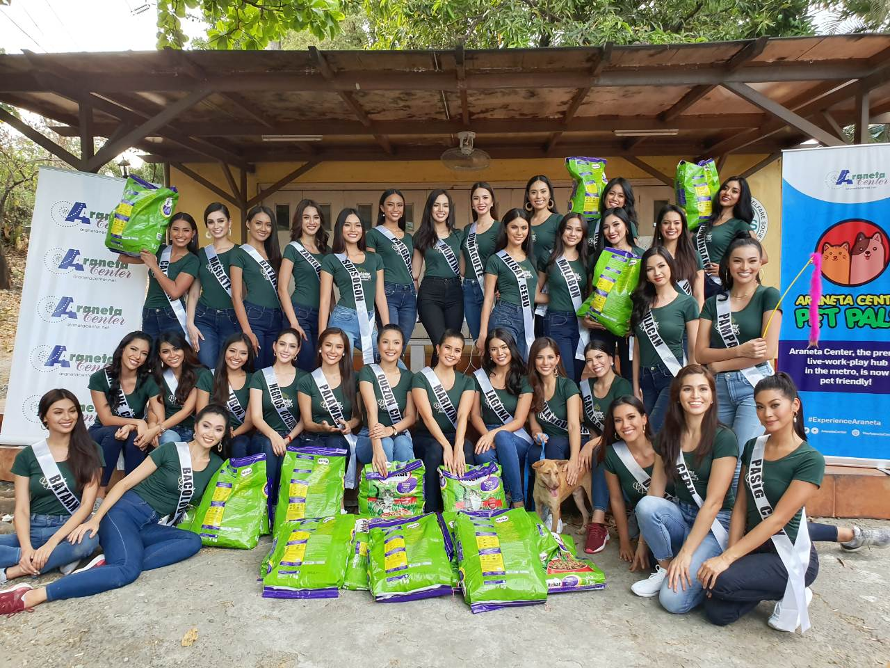 Binibining Pilipinas 2019 candidates turn 'Pet Pals' for a day