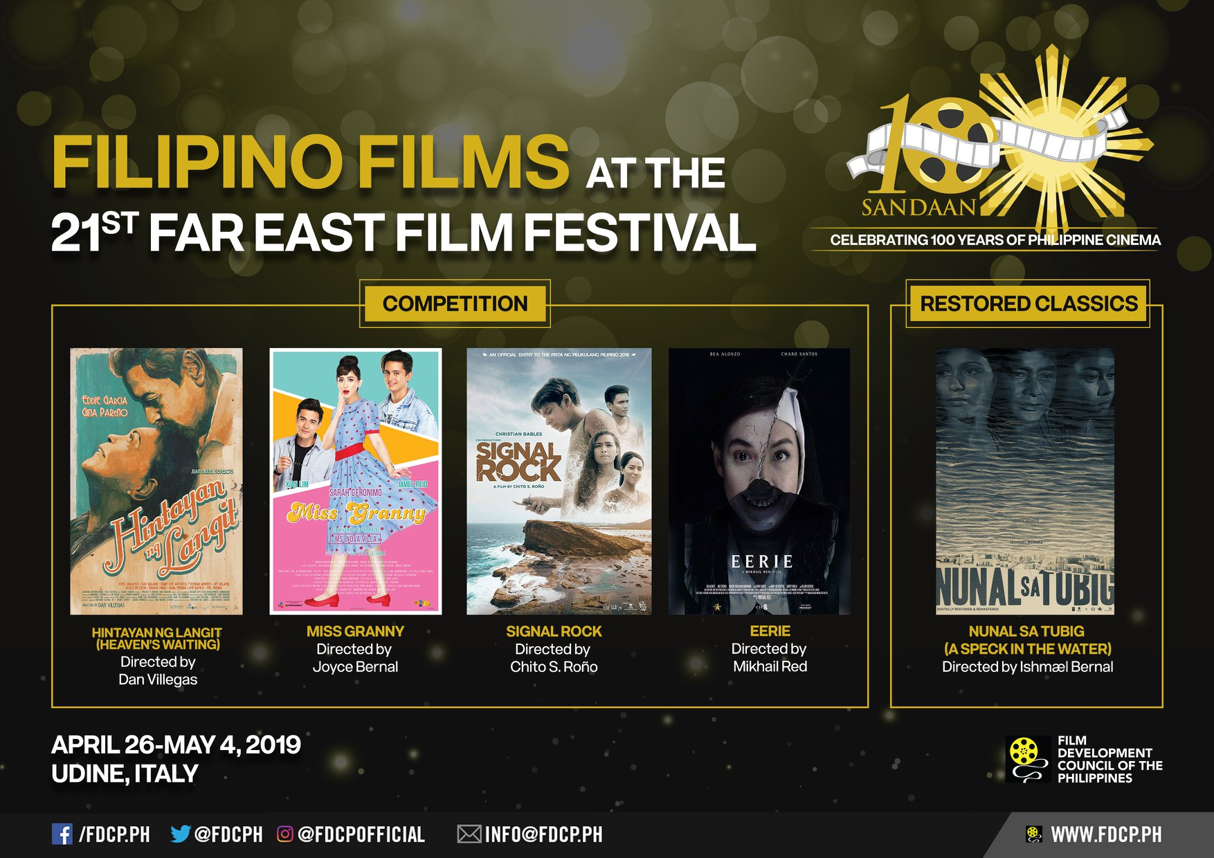 Philippine films go at the Far East Film Festival