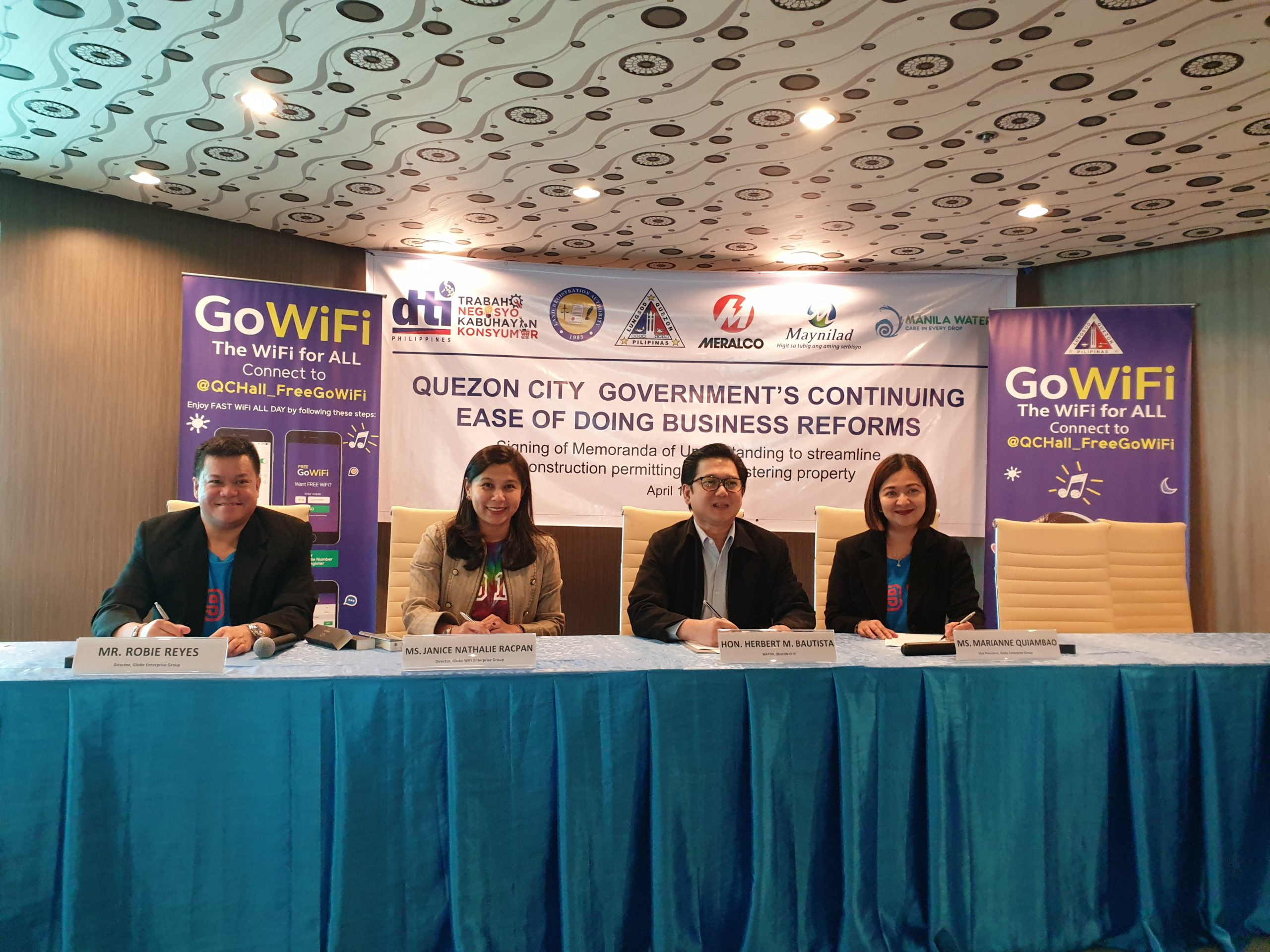 GoWiFi and Quezon City LGU partner for free, high-quality internet connectivity