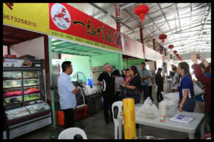 DTI Secretary Lopez inspects China Food City, calls for suspension of operations