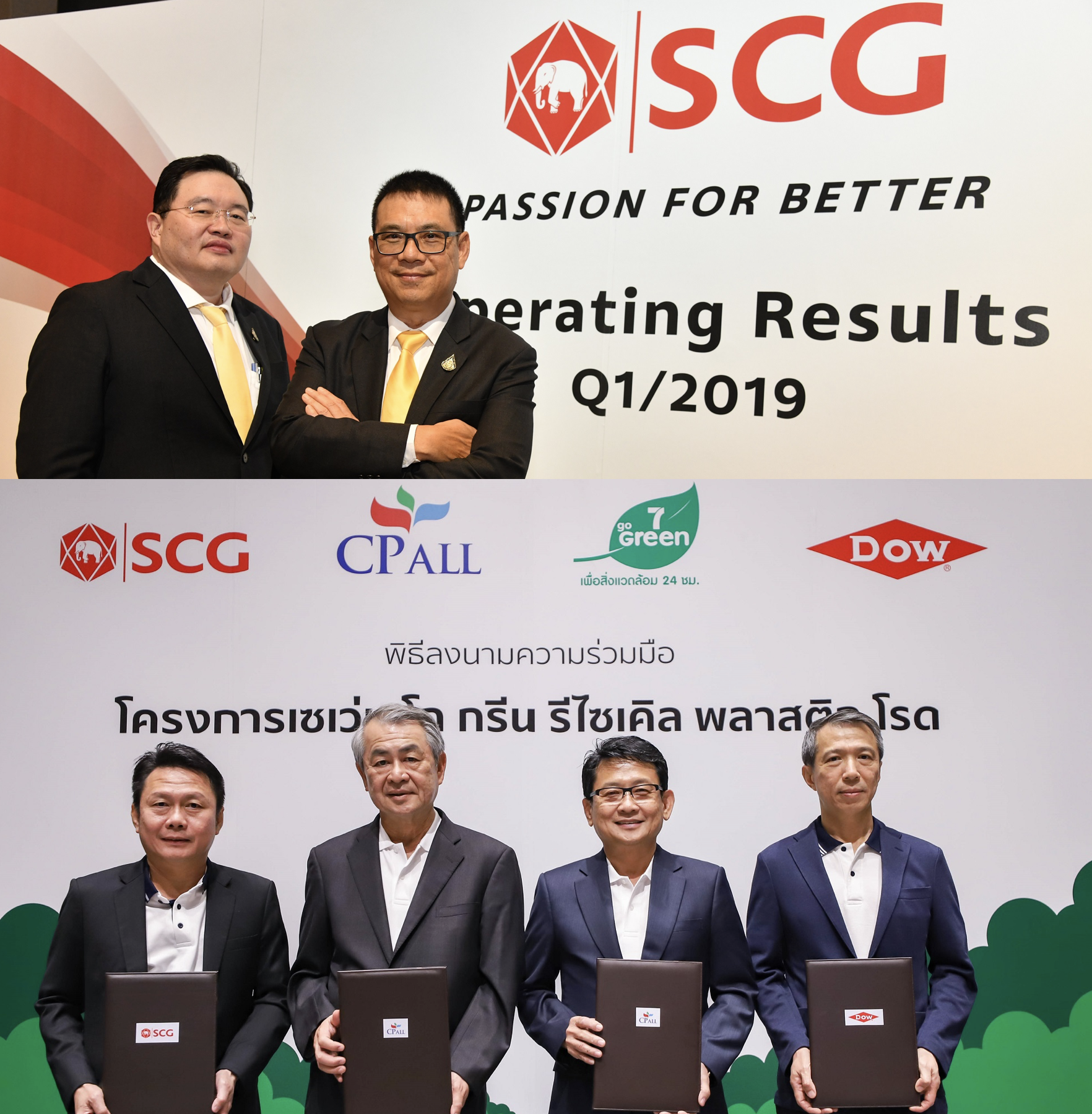 SCG Announces Operating Results for Q1 2019, Builds Stronger Growth