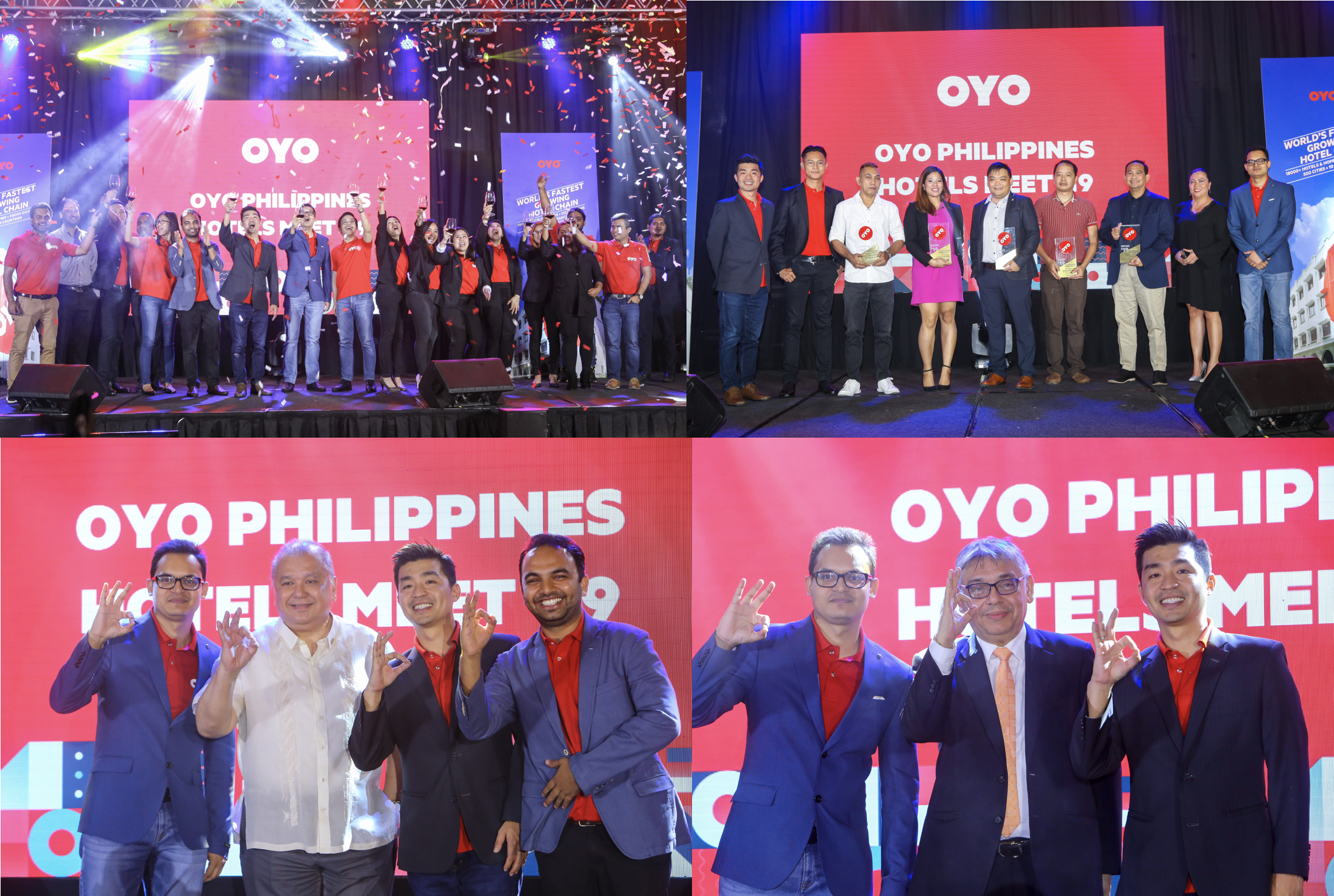 OYO Hotels and Homes Philippines celebrates continued success and excellence, benefited 50+ asset owners in 4 months