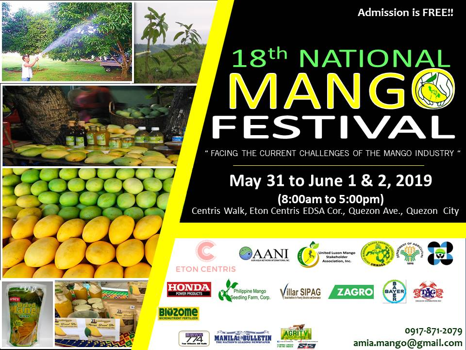 18th National Mango Festival to kick off from May 31-June 2