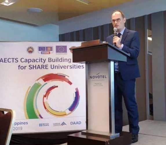 Building regional recognition to create more synergies AECTS capacity building workshop for SHARE universities