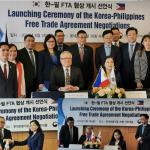 Philippines, Republic of Korea launch FTA negotiations, conduct first J