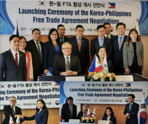 Philippines, Republic of Korea launch FTA negotiations, conduct first JCTEC meet
